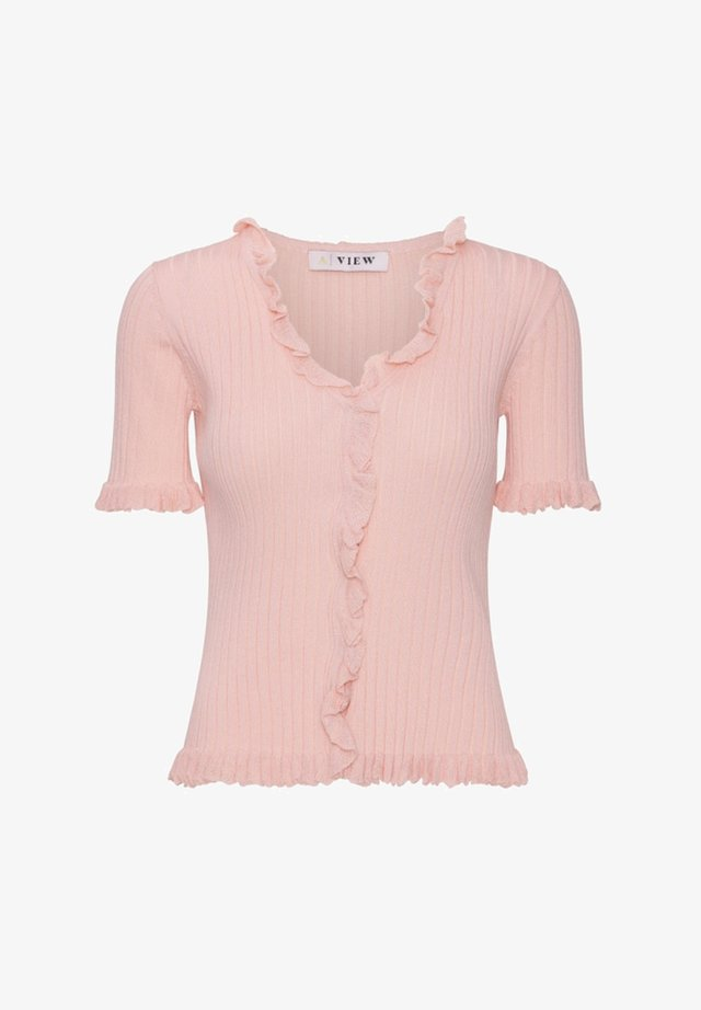 FABIA - T-shirt print - rose