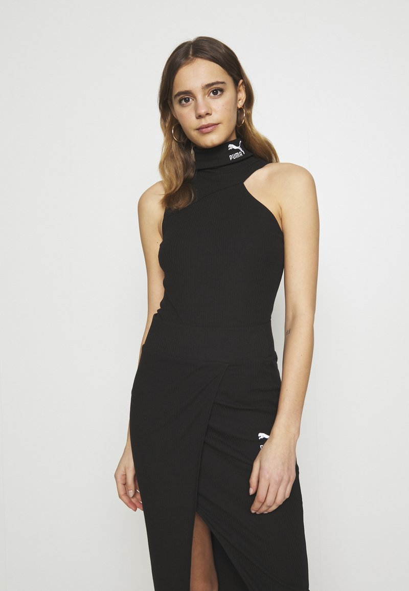 Puma - EMPOWER TURTLENECK BODYSUIT - Topper - black