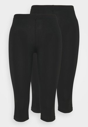 CROPPED - Legginsy - black