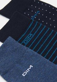 DIM - CREW SOCKS 3 PACK - Ponožky - navy blue/jean - 1