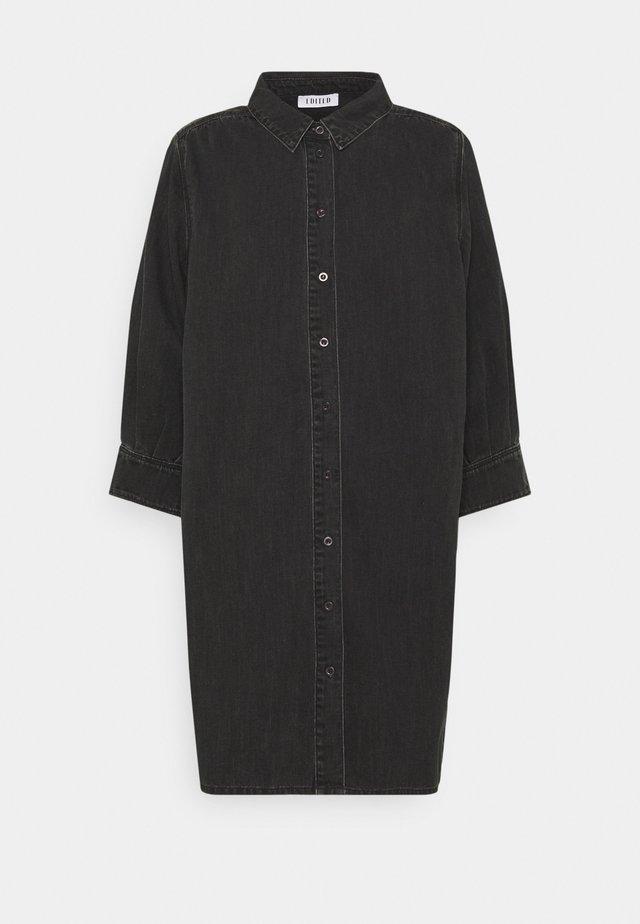 SIENA DENIM DRESS - Blousejurk - black washed