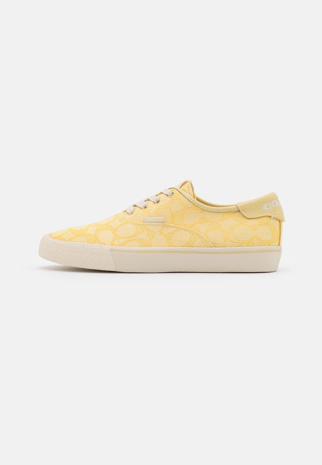 CITYSOLE - Tenisky - pale yellow
