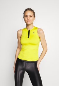Craft - UNTMD SINGLET  - Top - yellow - 0
