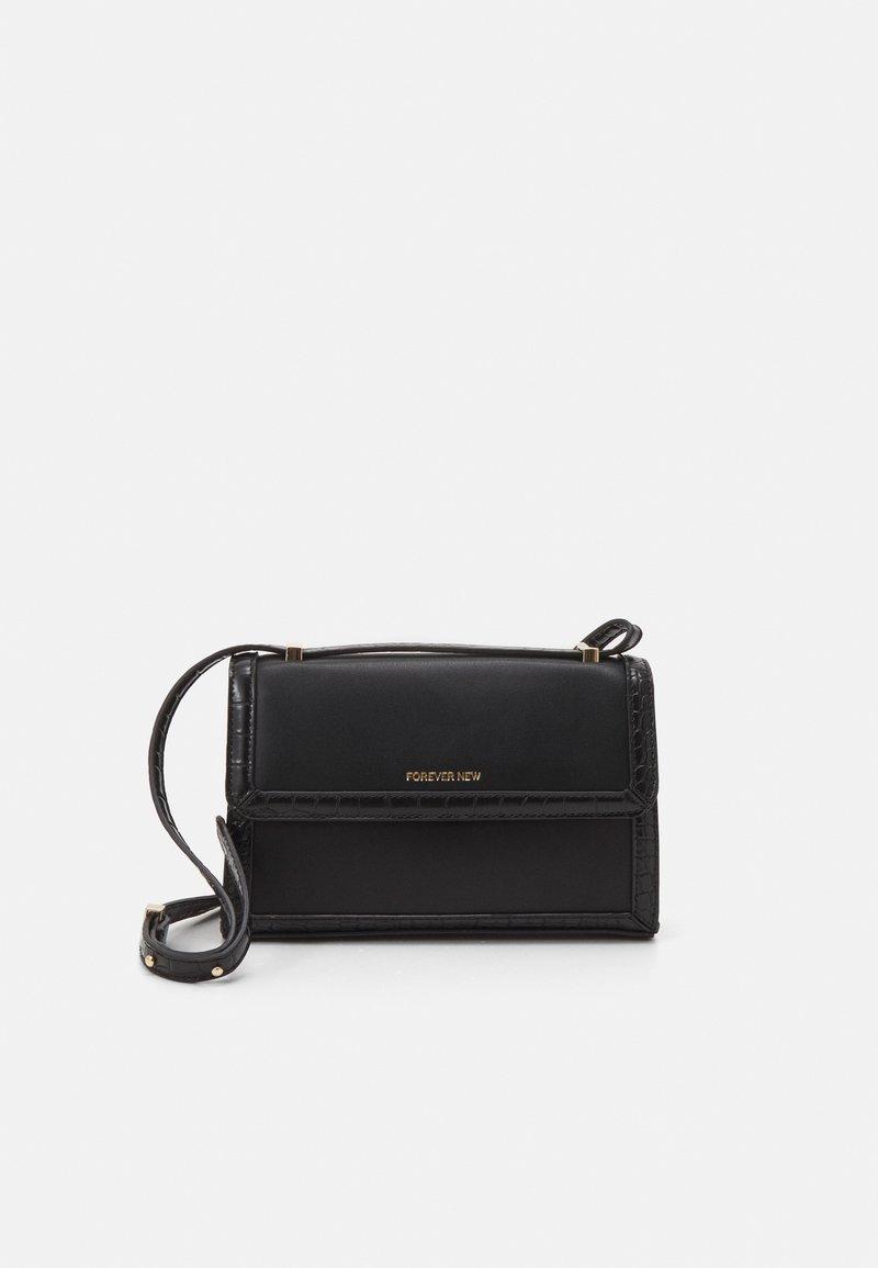 Forever New - VERA BORDER CROSSBODY BAG - Across body bag - black