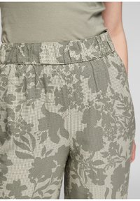 s.Oliver - Trousers - summer khaki aop - 3
