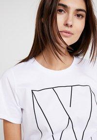 InWear - SERA - Print T-shirt - pure white - 3