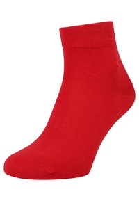 camano - BOX 7 PACK - Socks - true red/fog melange/blue/white - 2