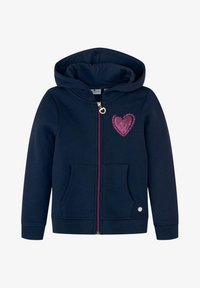 TOM TAILOR - Zip-up hoodie - dress blue|blue - 0