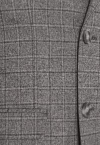 Isaac Dewhirst - CHECK DOUBLE BREASTED SUIT - Oblek - grey - 12