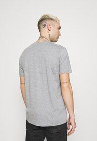 Esprit - FEATH - Print T-shirt - light grey - 2