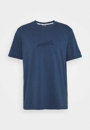 HOOPS TEE - Print T-shirt - dark denim