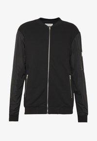 Pier One - Zip-up hoodie - black - 5