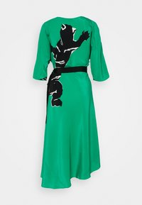Diane von Furstenberg - ELOISE - Vapaa-ajan mekko - medium green - 7