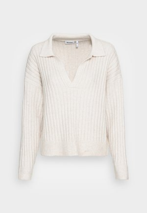 HUSKY SWEATER - Stickad tröja - off white
