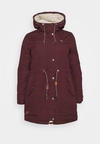 Ragwear Plus - CANNY - Zimní kabát - wine red - 3