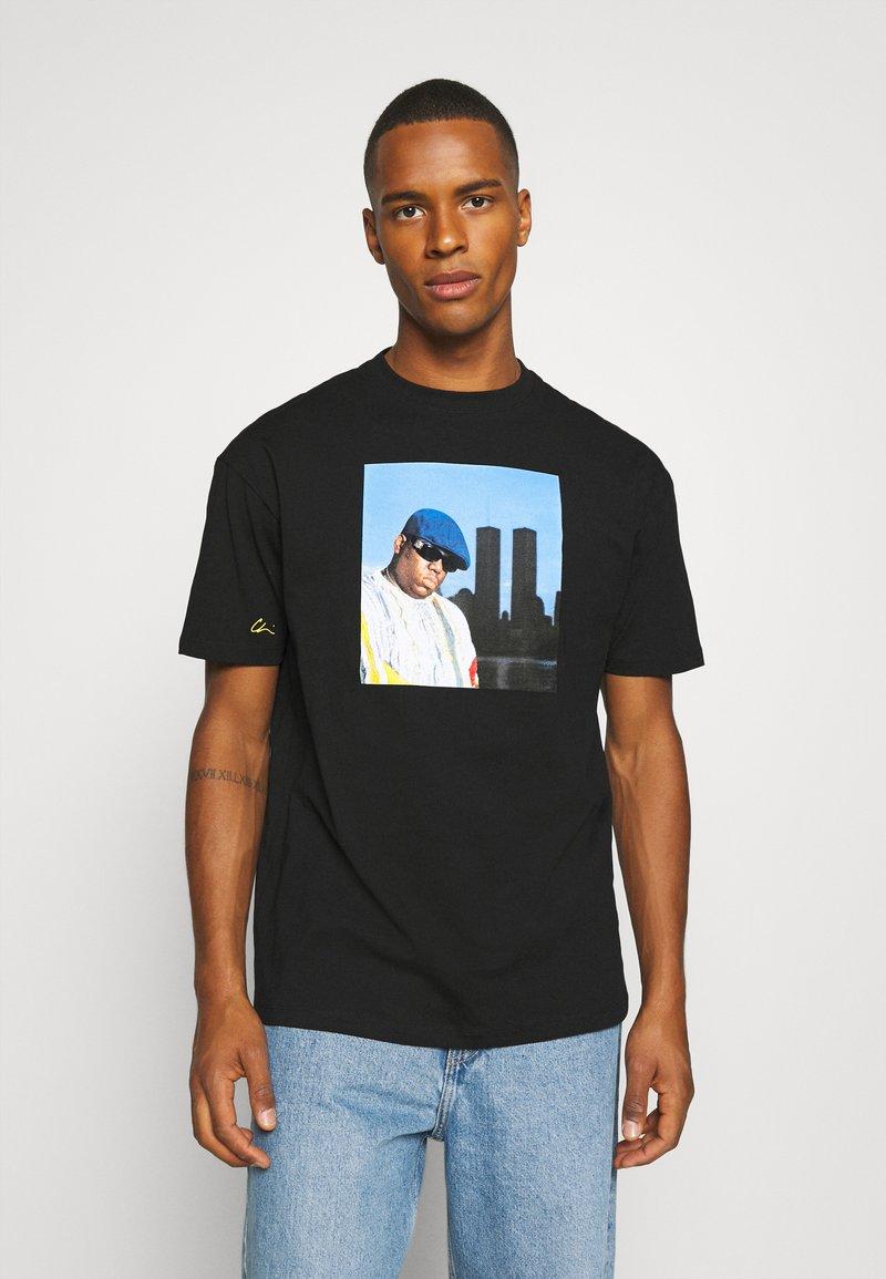 Chi Modu - BIG KING - Print T-shirt - black