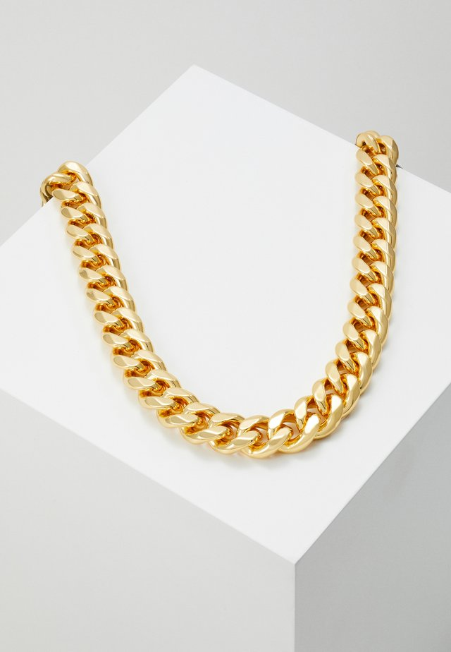 ATTICUS CHAIN NECKLACE - Naszyjnik - gold-coloured