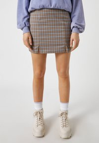 PULL&BEAR - A-line skirt - brown - 5