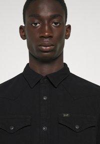 Lee - REGULAR WESTERN - Overhemd - black - 4