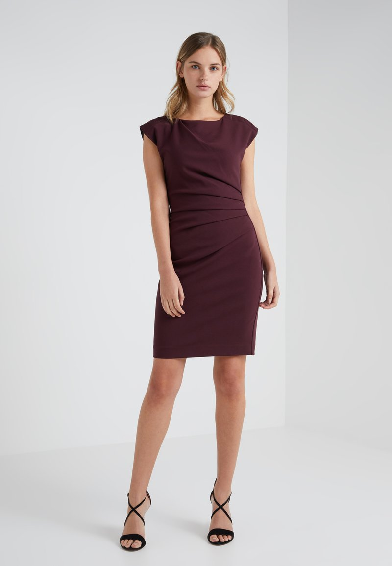 Tiger of Sweden - Shift dress - dark red