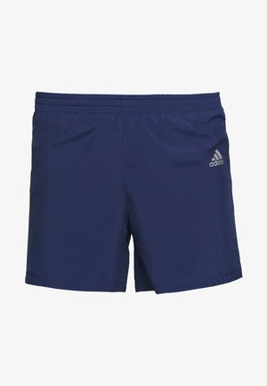 OWN THE RUN SHORT - Krótkie spodenki sportowe - dark blue
