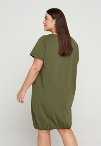 Zizzi - Day dress - ivy green - 1