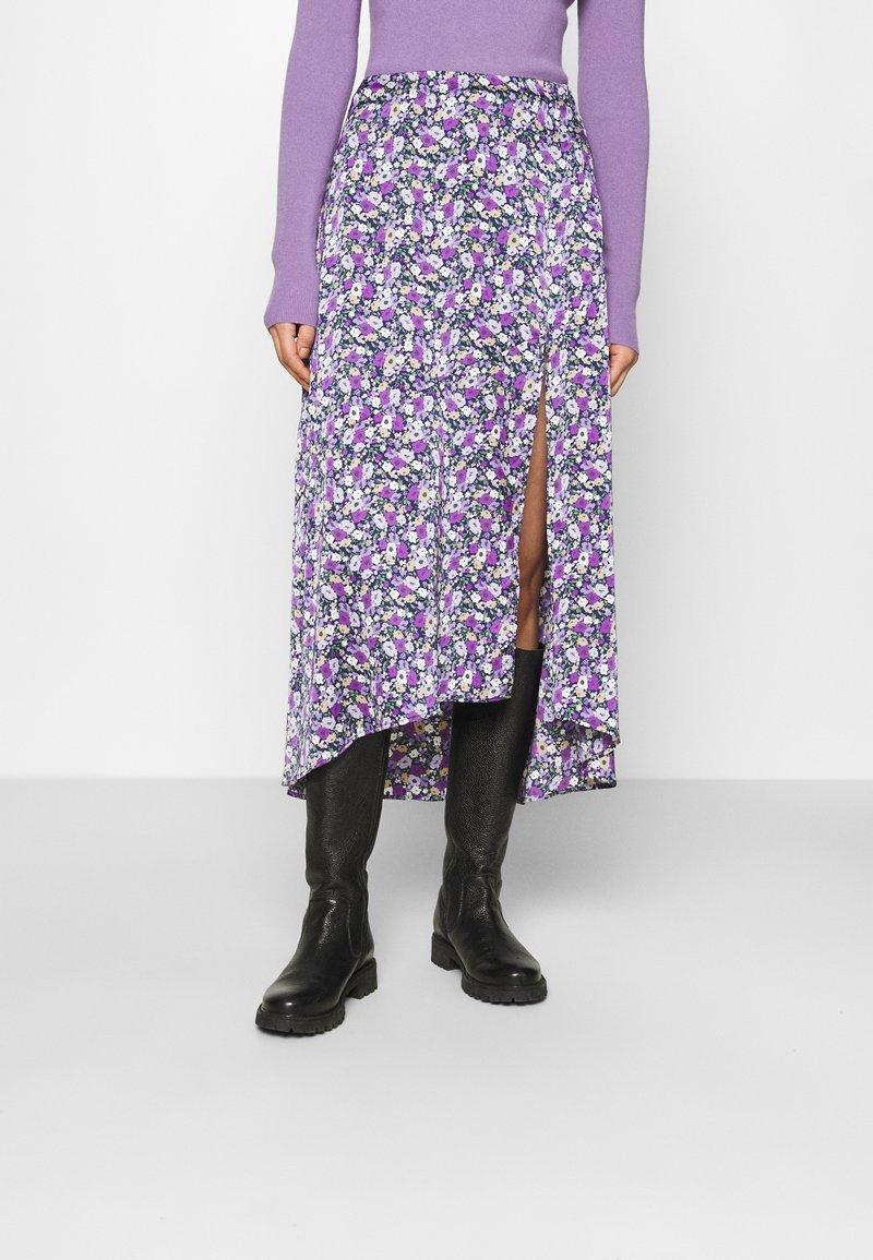 Résumé - CHARLEE SKIRT - Pouzdrová sukně - purple