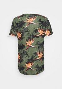 Jack & Jones - JORFLORALL - Print T-shirt - sea spray - 7