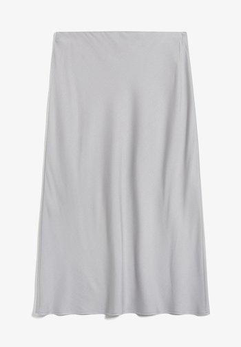 DEVORAA - A-line skirt - silver