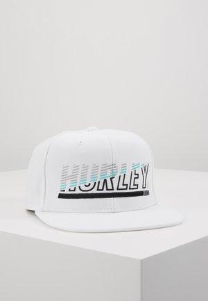 CHOPPED CAP - Kšiltovka - white