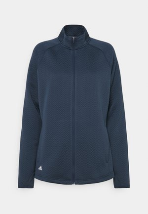 TEXTURE FULL ZIP  - Training jacket - crew navy