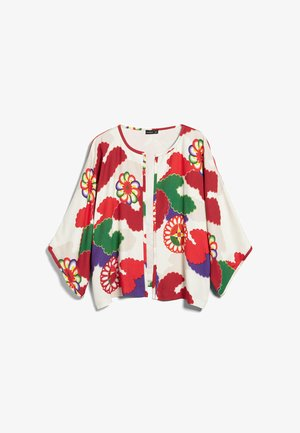 Light jacket - weiß rot/rose