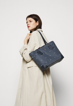 EVA TOTE - Bolso shopping - navy