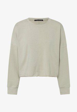 CROPPED - Sweatshirt - green