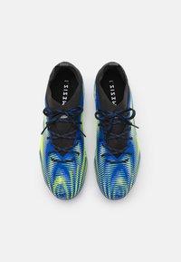adidas Performance - NEMEZIZ .1 FG UNISEX - Moulded stud football boots - royal blue/solar yellow/core black - 3