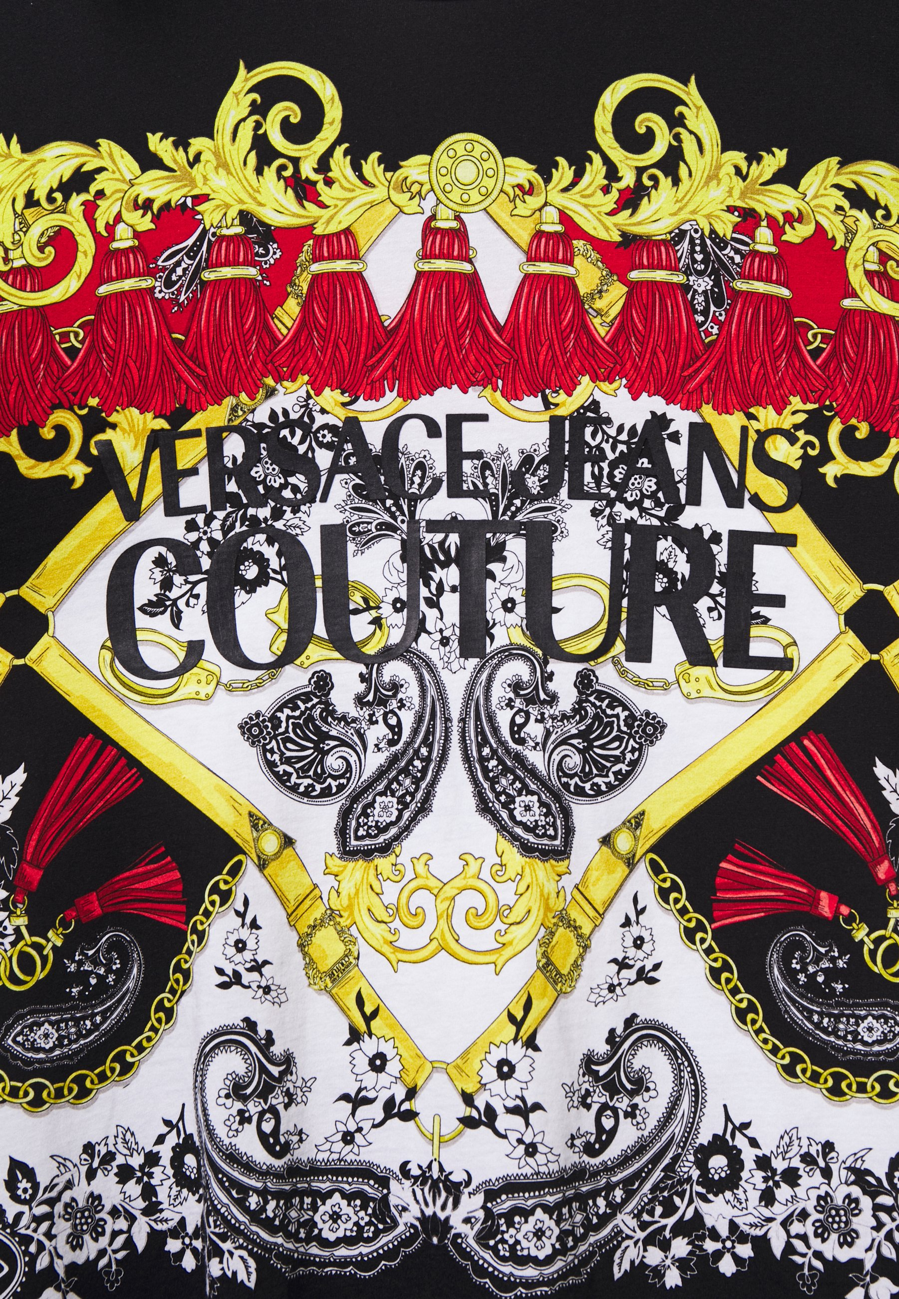 Versace Jeans Couture Print T-shirt - nero UghL4