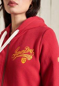 Superdry - Zip-up sweatshirt - chilli pepper - 1
