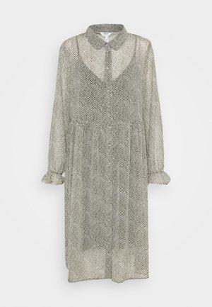 OBJMIE DRESS - Day dress - forest night/stroke print
