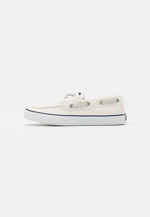 BAHAMA  - Boat shoes - white