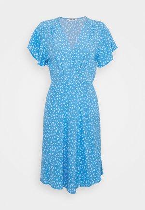FLEUR LITTLE DAISY WRAP DRESS - Day dress - blue