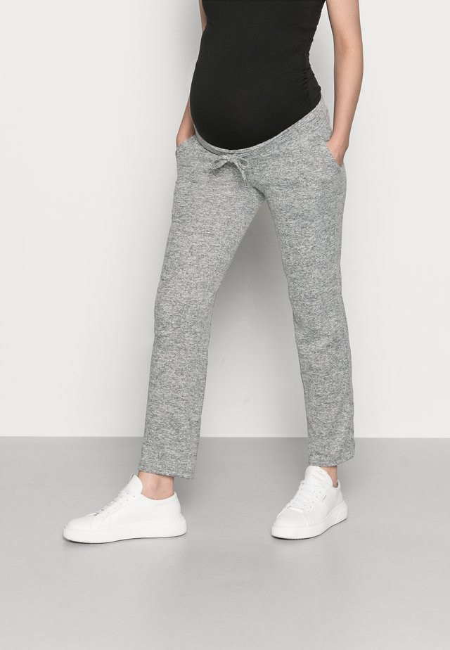 MLNEWJANNI LOUNGE PANTS - Trainingsbroek - light grey melange