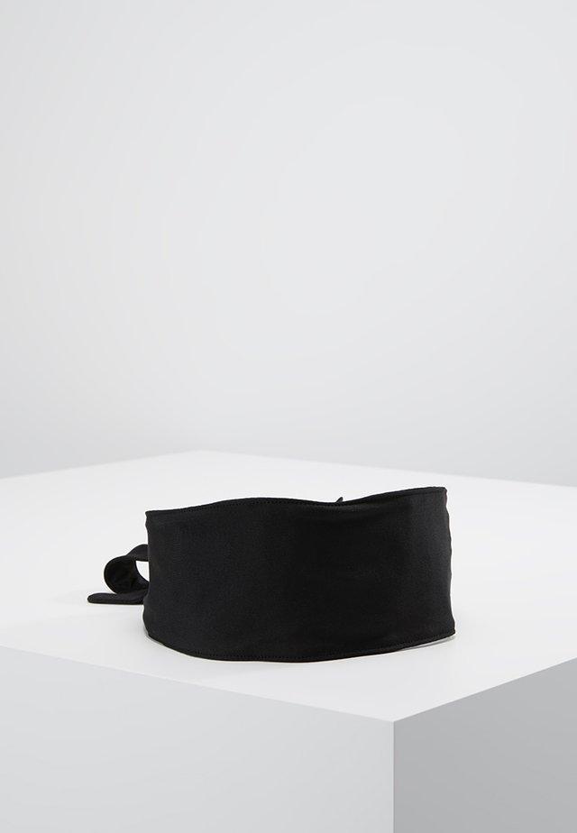 BANDANA HEAD TIE - Panta/korvaläpät - black/white