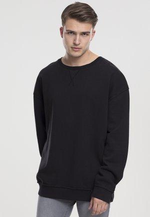 OPEN EDGE CREW - Sweater - black