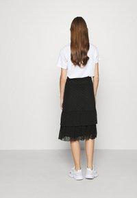 Even&Odd - A-line skirt - black - 2