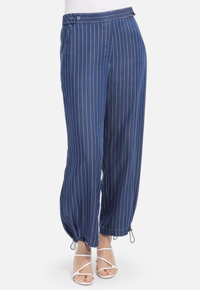 HELMIDGE - Trousers - blau