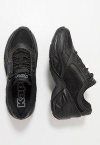 Kappa - KRYPTON - Sportovní boty - black - 1