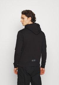 The Couture Club - ESSENTIALS SIGNATURE SLIM FIT HOODIE - Huppari - black - 2