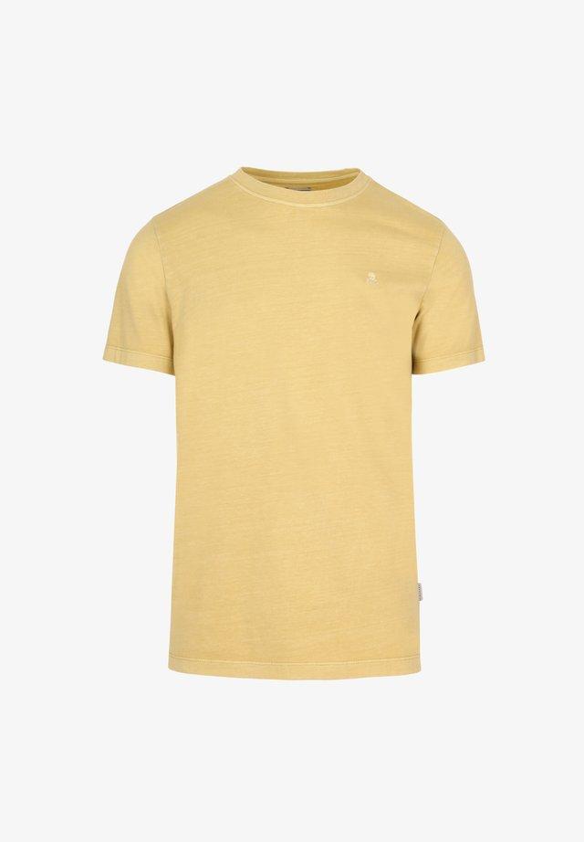 SKULL  - Basic T-shirt - yellow