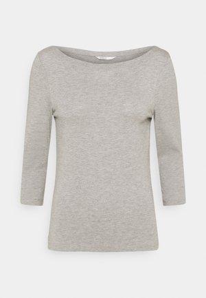 ONLAYA BOATNECK - Topper langermet - light grey