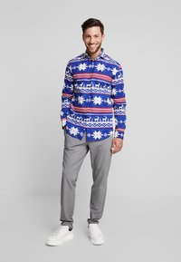 OppoSuits - THE RUDOLPH TAILORED FIT - Shirt - blue - 1